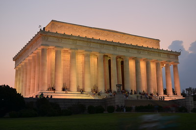 Lincoln Memorial (c) 2013 Karin Markert, all rights reserved.