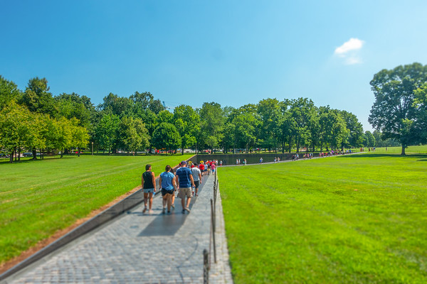 Vietnam Veterans Memorial Tilt-Shift