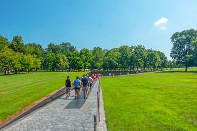 Vietnam Veterans Memorial Tilt-Shift