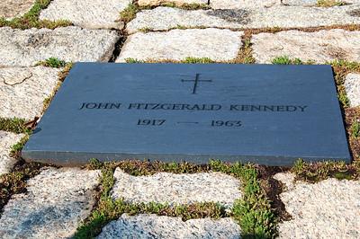 John Fitzgerald Kennedy Tombstone