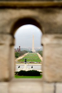 View of the Mall from the Capitol Building