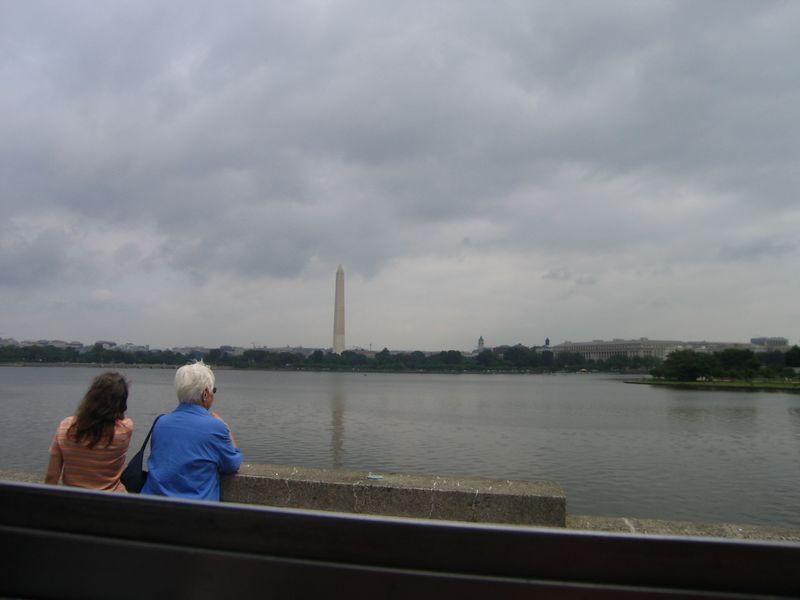 Potomac with Washington Monument