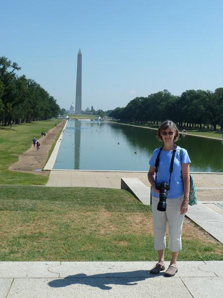 reflecting pool, Washington Momunent