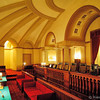 The Old Supreme Court Chamber (inside the US Capitol). Used from 1810 to 1860.