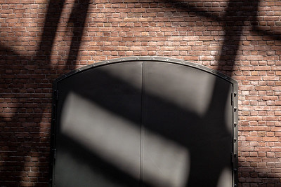 Holocaust Museum Wall and Shadow