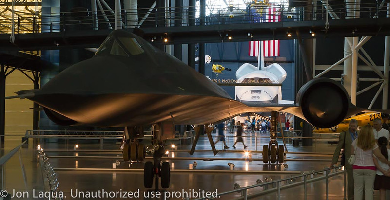 National Air and Space Museum, Steven F. Udvar-Hazy Center at Dulles Airport.