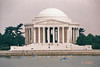 The Jefferson Memorial.  As you can see the Potomac River tidewater sort of surrounds the Memorial and on pleasant days is a great place to paddle a boat or row a canoe and get a little fresh air and sun.