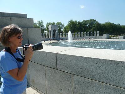 WWII Memorial pool