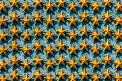 Wall of Freedom Stars WWII Memorial