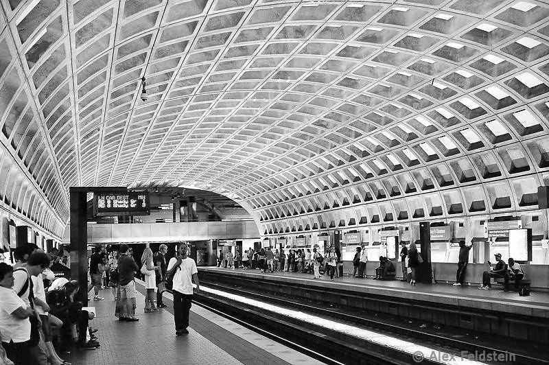 Metro Center station<br /> Washington DC