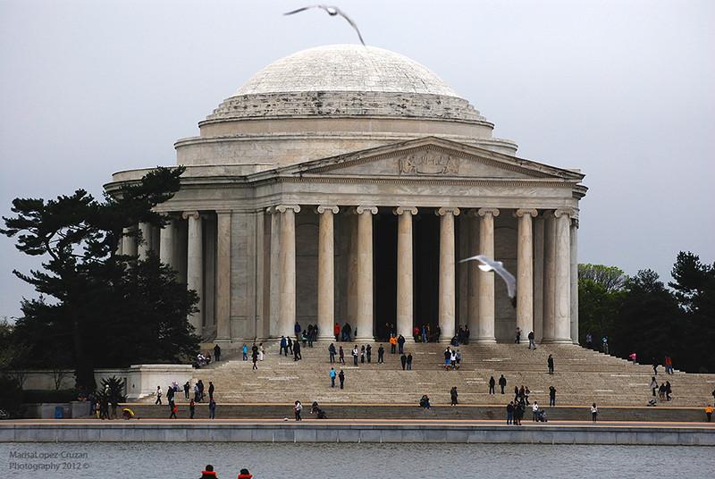 The Jefferson Memorial small