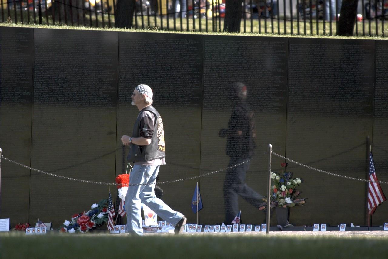 The Wall: Vietnam Veterans memorial, DC 2005