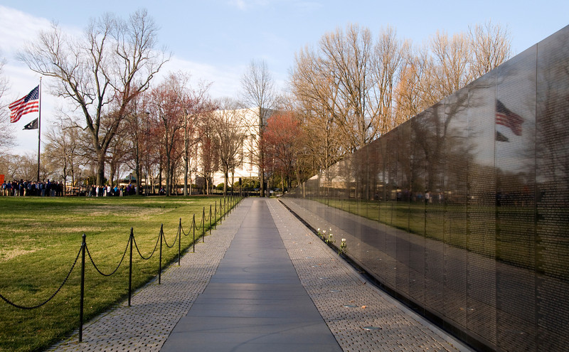 The Wall, Vietnam Veteran's Memorial, Washington, DC