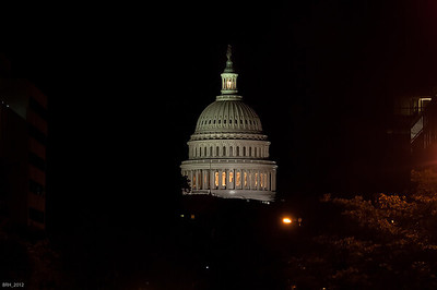 Capitol Bldg at Night