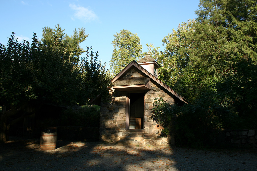 This, and the next few pictures, are of a smokehouse for preparing meat on the Washington Irving property.