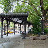 Pioneer Square area (old trolley stop)
