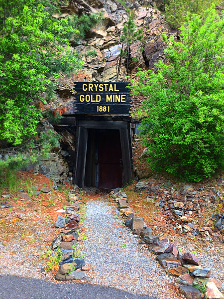 Crystal Mine, Kellogg Idaho