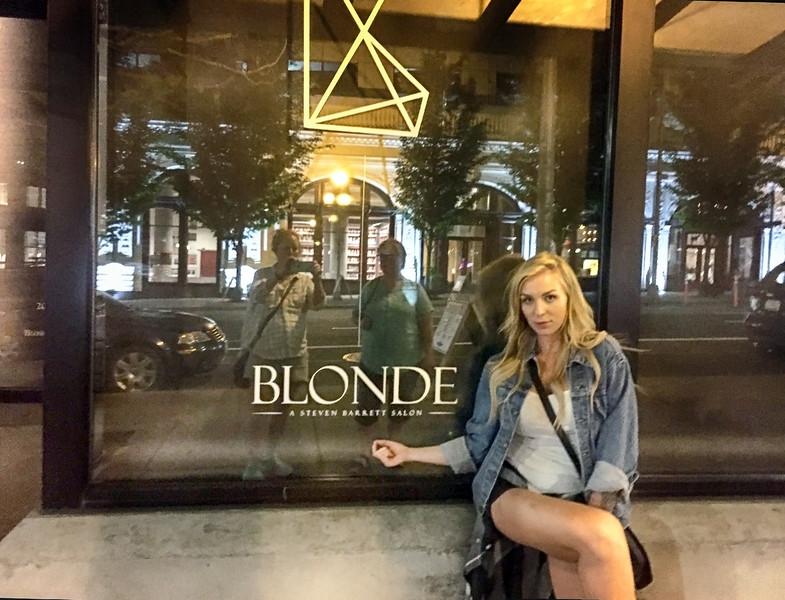 Blondie is back, here at Blonde.