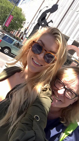 Sarah and Sharon in Seattle.