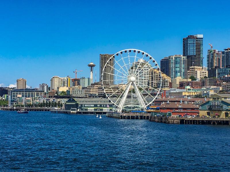 Leaving Seattle.