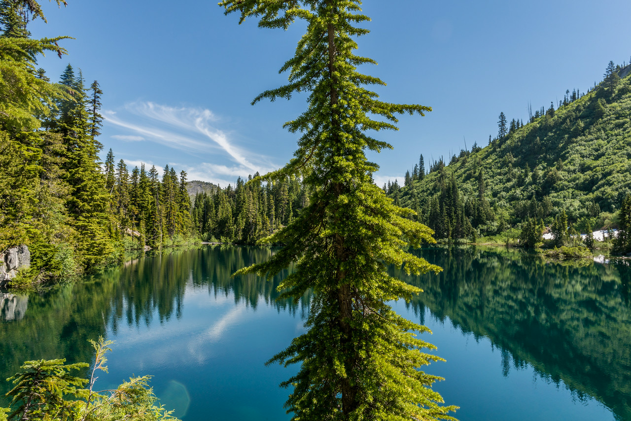 Snow Lake, Mount Rainier National Park