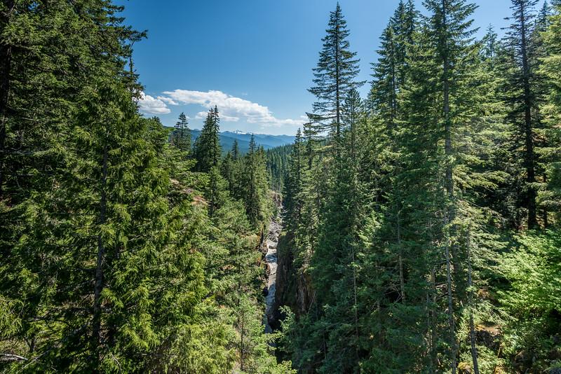 Box Canyon. Muddy Fork Cowlitz River, Mount Rainier National Park