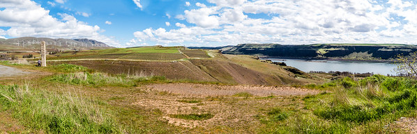 Panorama from Stonehenge at Maryhill, WA-1-2