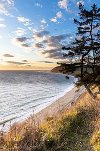 The coast of Whidbey Island along Ebey's Landing National Historic Park