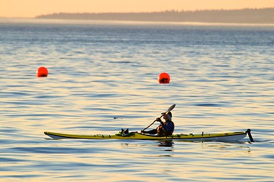 kayaking on Puget Sound