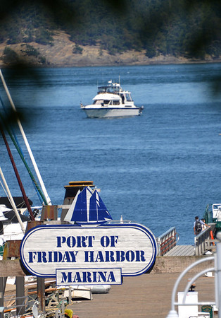 Friday Harbor - San Juan Island - August 2013