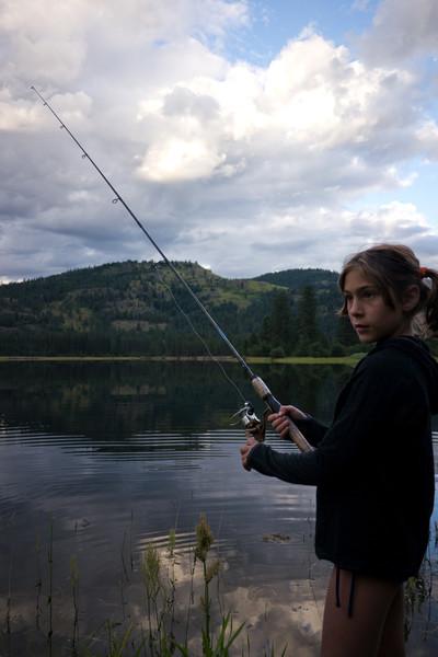 maddie fishing