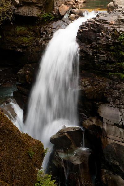 Nooksack Falls, below Mt Baker