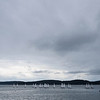 Sailboat racing, this time from the land