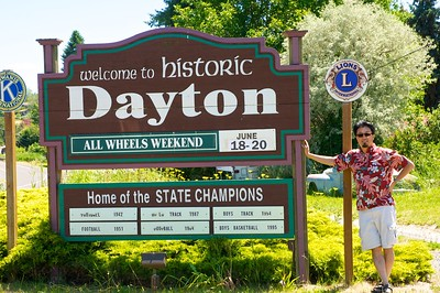 Welcome to Dayton, Washington