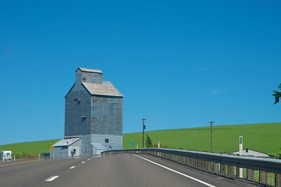Grain silo in Eastern Washington