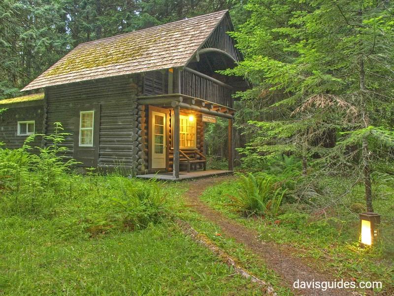 Oliver Brown cabin at Mount Rainier National Park