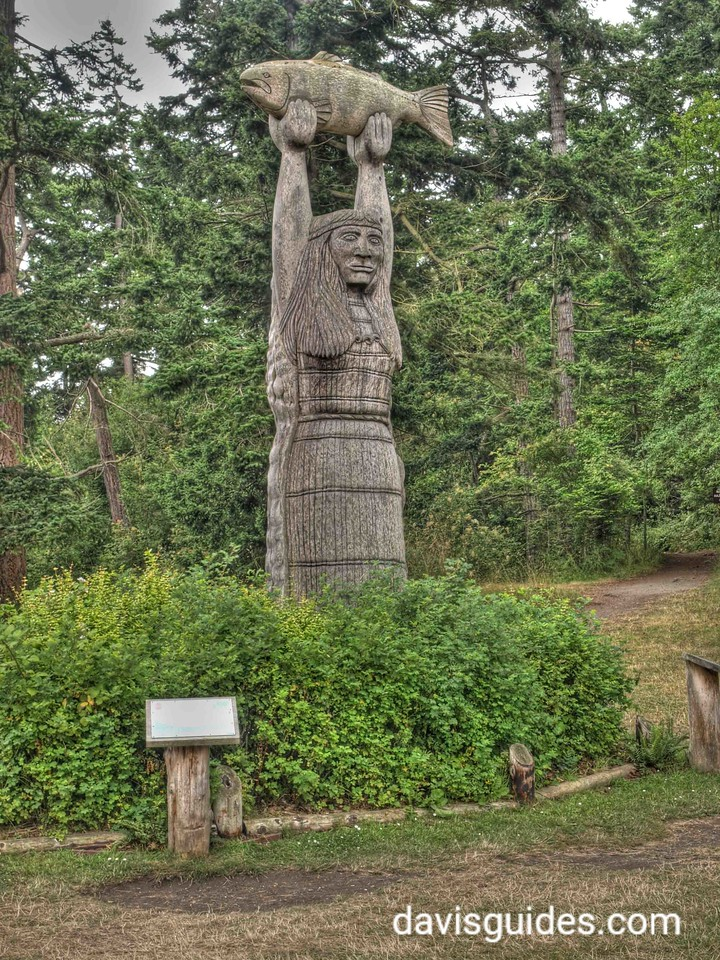 Sculpture at Bowman Bay, Deception Pass State Park