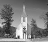 Small church, Elbe Washington.<br /> Lutheran Church built by German immigrants in the 1880s.  Church is still in use as a popular location for weddings and a monthly Lutheran Service.  It is the smallest church in America.