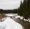 Snow and river near Hyak, WA