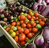 Persimmons and eggplants