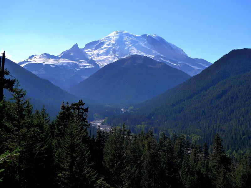 Mount Rainier, Mount Rainier National Park - Washington State<br /> ©2009 Thomas Stanzale. All rights reserved.