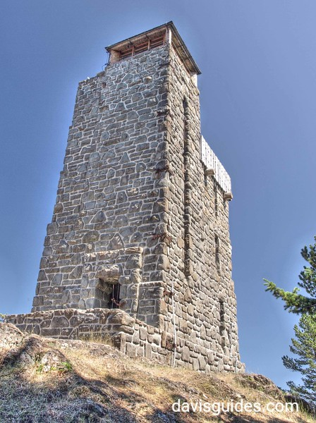 CCC-built Mount Constitution Tower at Moran State Park