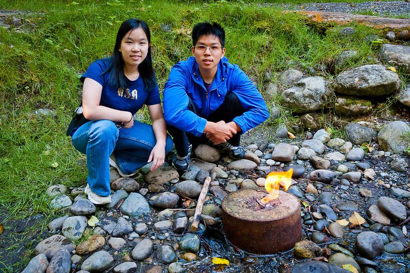 Flaming Geyser State Park