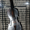 an aluminum violin that i decided to photograph for my friend billy, who is the master of the fiddle.