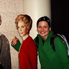 later on becky bumped into nancy reagan.