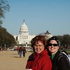 a windy walk on the national mall.