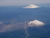 Mt Saint Helens and Mt Rainier