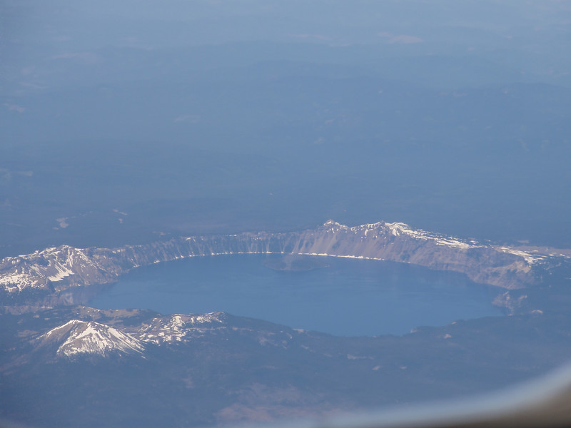 Crater Lake heading north