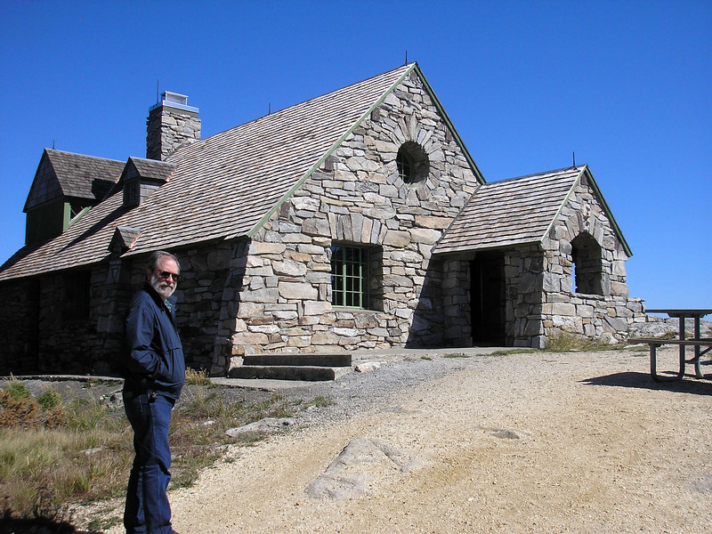 The stone house is available to rent from the State Parks for the day.