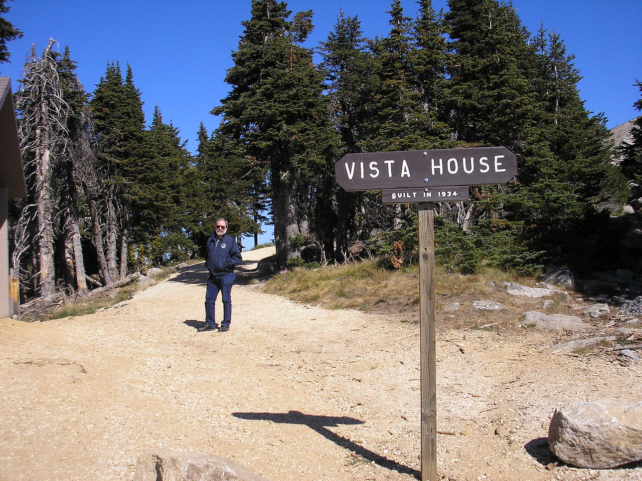 And the Vista house was built by the Civilian Conservation Corps.  It is on top of Mt. Spokane.